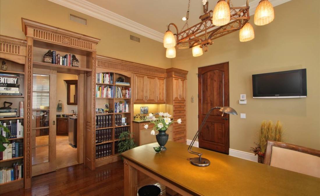 Traditional Home Office Dorig Designs
