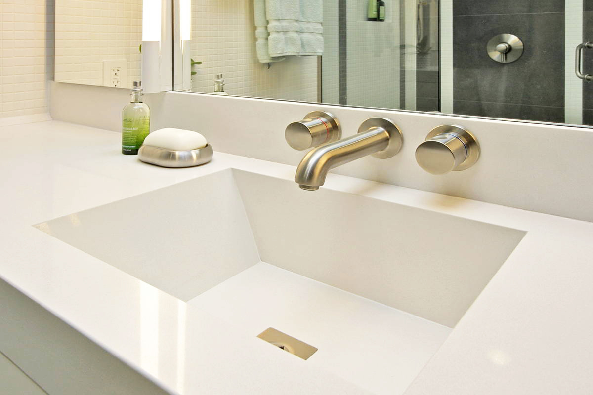 Modern magnet bath dorig designs - Caesarstone sink kitchen ...