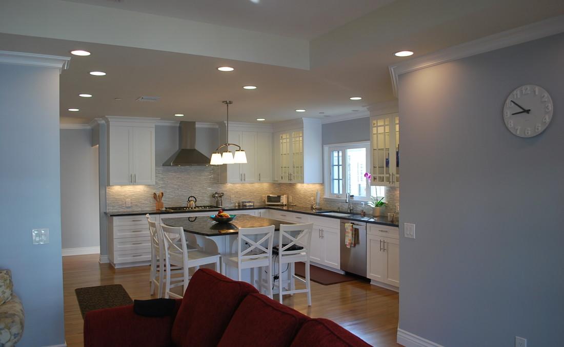 White Cottage Charm Kitchen