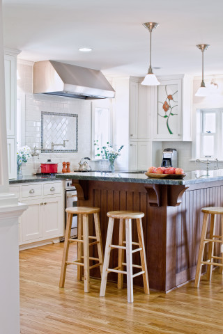 Dutch Colonial Revival Kitchen