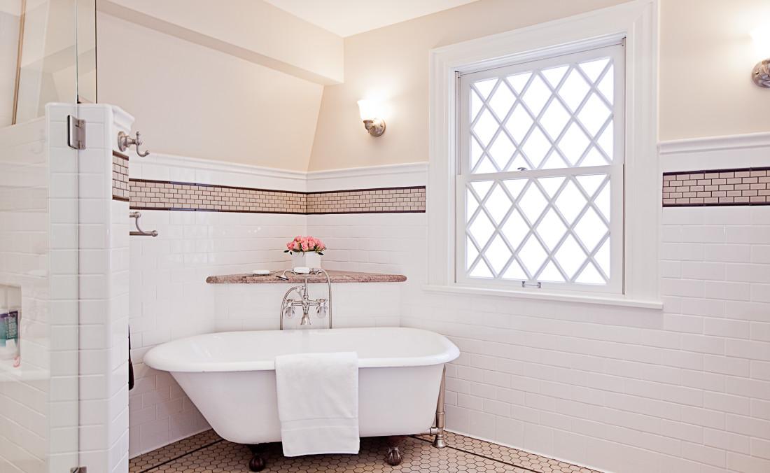 Colonial Revival Master Bath