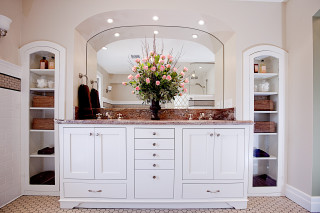 Colonial Revival Master Bath