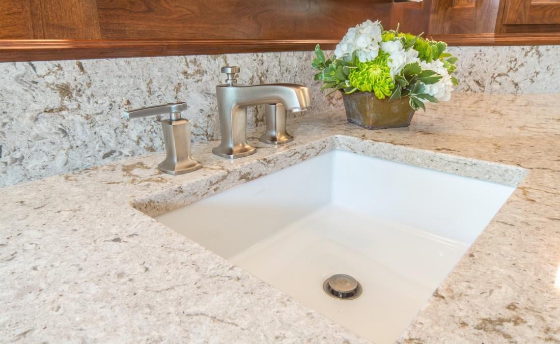 Elegant Master Bath Sink Design