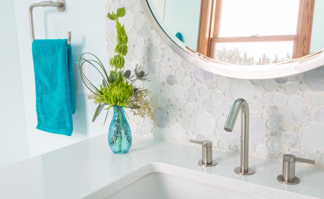 Teen Bath Design Bubbles