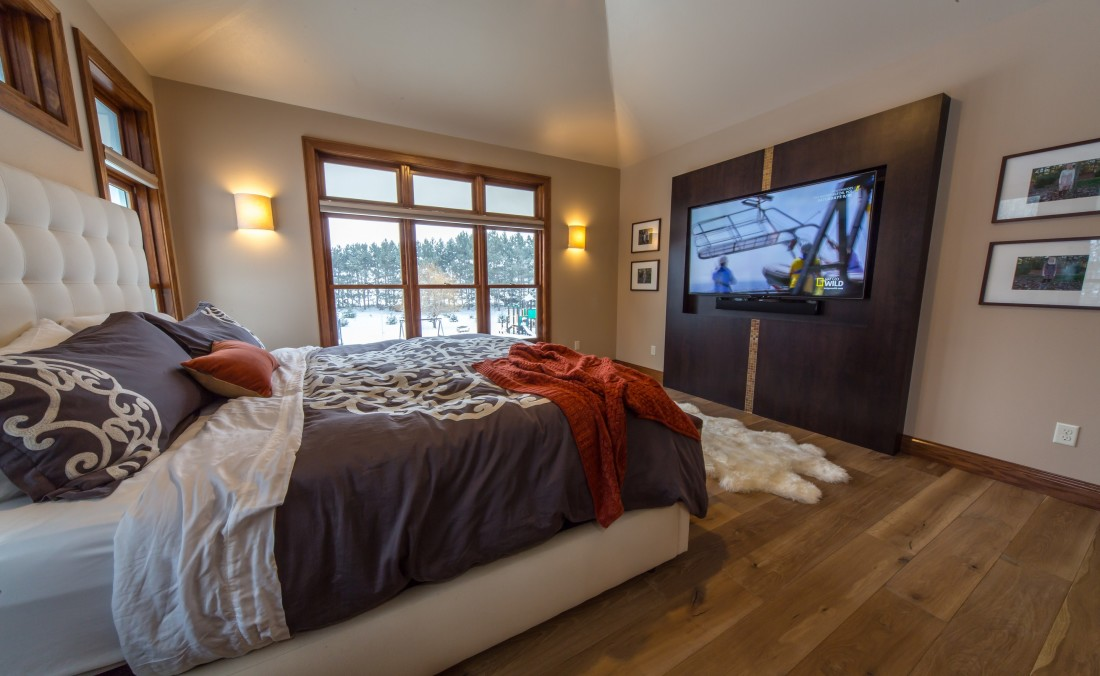 Romantic Retreat Bedroom Design TV