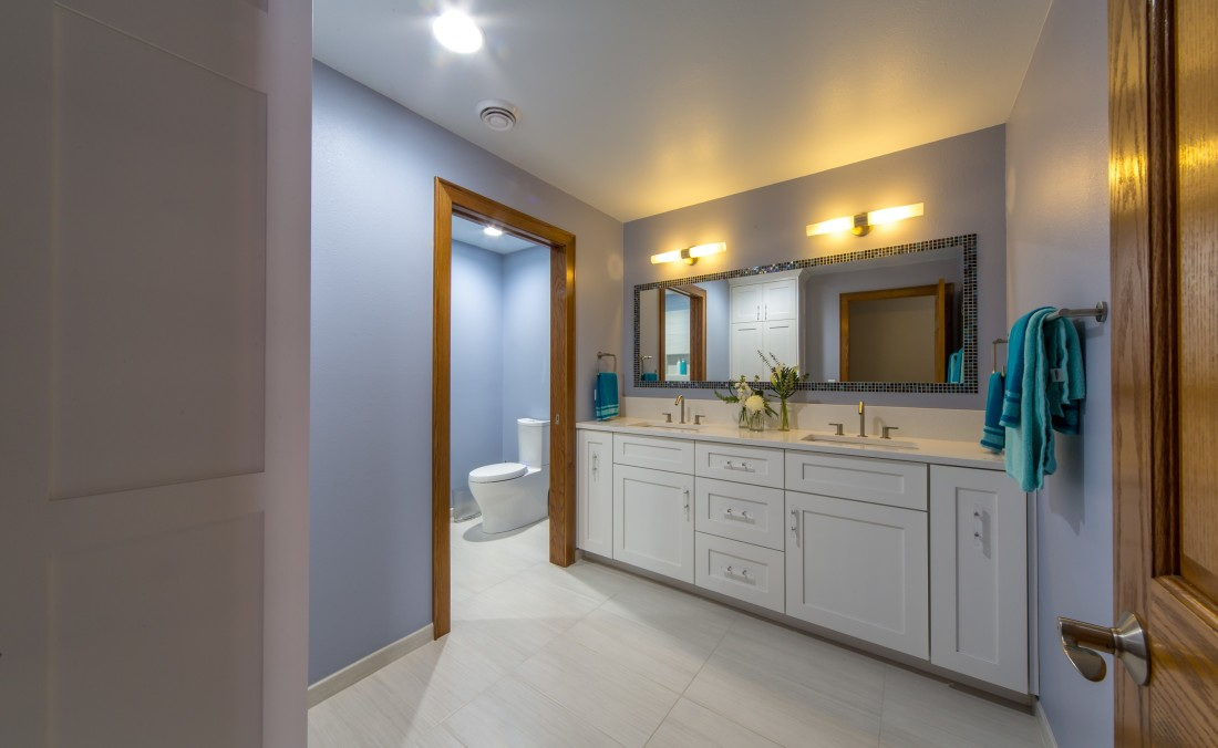 Teen Bath Design Purple