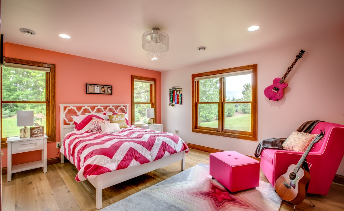 Teen Girl Bedroom Design Pink