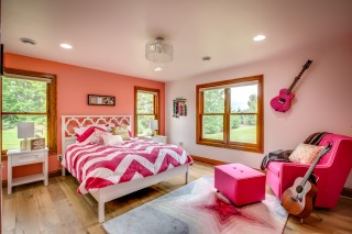 Teen Girl Bedroom Design Pink