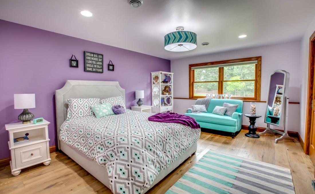 Teen Girl Bedroom Purple