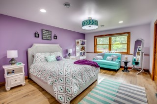Teen Girl Bedroom Purple
