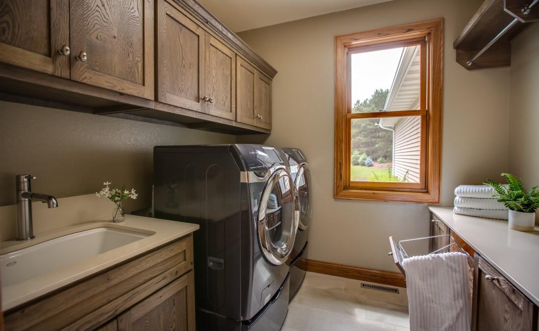 Weathered Oak Laundry
